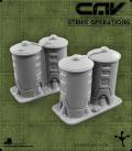 72613 CAV Battlefield Terrain: [SO] Medium Storage Tank