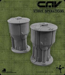 72614 CAV Battlefield Terrain: [SO] Large Storage Tank