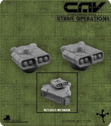 72617 CAV Battlefield Terrain: [SO] Turret (Missile)