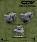 72618 CAV Battlefield Terrain: [SO] Turret (Rocket)