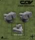CAV Battlefield Terrain: [SO] Turret (Rocket)