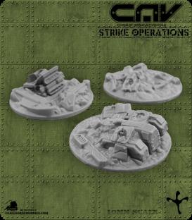 72622 CAV Battlefield Terrain: [SO] Wrecked CAVs