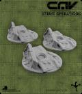 72623 CAV Battlefield Terrain: [SO] Wrecked Tanks