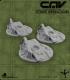 CAV Battlefield Terrain: [SO] Wrecked Tanks