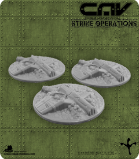 72624 CAV Battlefield Terrain: [SO] Wrecked Aircraft