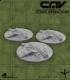CAV Battlefield Terrain: [SO] Wrecked Aircraft