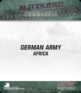 10mm Blitzkrieg Cmdr IV: German, Africa Starter Army
