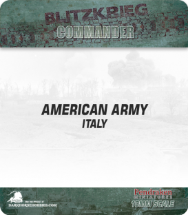10mm Blitzkrieg Cmdr IV: American, Italy Starter Army