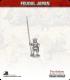 10mm Feudal Japan: Ashigaru with Yari (upright)