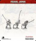 10mm Feudal Japan: Samurai with Naginata