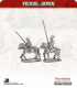 10mm Feudal Japan: Mounted Samurai with Yari
