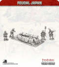 10mm Feudal Japan: Emplaced Gun with Crew