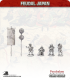 10mm Feudal Japan: Foot Generals Group