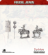 10mm Feudal Japan: Mounted General and Bannerman