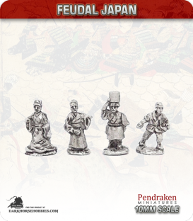 10mm Feudal Japan: Civilians