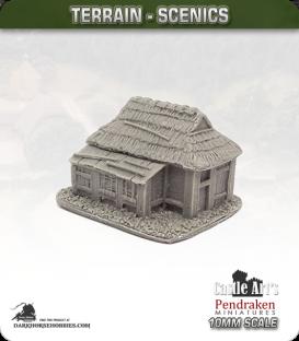 Far East (10mm): Feudal Japanese - Village House (type 1)