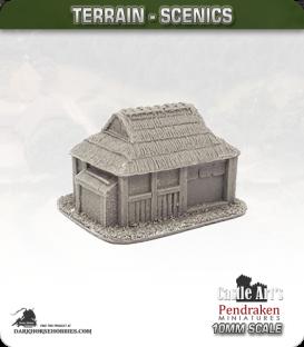 Far East (10mm): Feudal Japanese - Dormitory