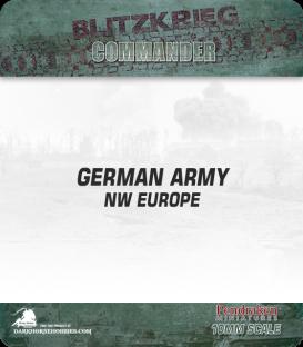 10mm Blitzkrieg Cmdr IV: German, NW Europe Starter Army