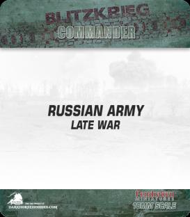10mm Blitzkrieg Cmdr IV: Russian, Late War Starter Army