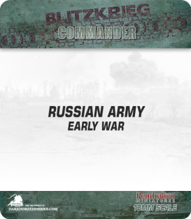 10mm Blitzkrieg Cmdr IV: Russian, Early War Starter Army