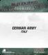 10mm Blitzkrieg Cmdr IV: German, Italy Starter Army
