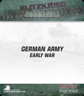 10mm Blitzkrieg Cmdr IV: German, Early War Starter Army