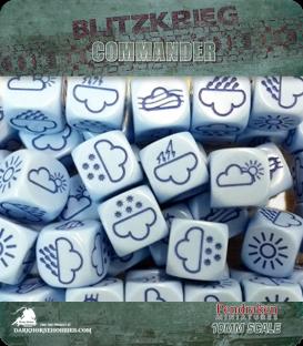 Blitzkrieg Commander IV: D6 Weather Dice (x2)