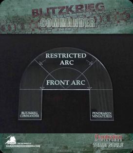 Blitzkrieg Commander IV: Restricted Arc template