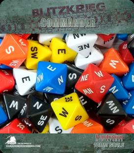 Blitzkrieg Commander IV: D8 Compass Dice (x2)