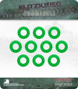 Blitzkrieg Commander IV: Deployed Markers (10)