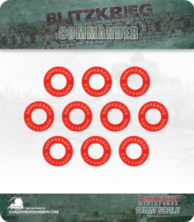 Blitzkrieg Commander IV: Suppressed Markers (10)