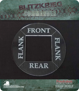 Blitzkrieg Commander IV: Front, Flank & Rear template