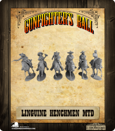 Gunfighter's Ball: Mounted Linguine Henchmen Faction Pack