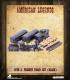 American Legends: 19th C. American Freight Train Set (Black)