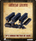 American Legends: 19th C. American Passenger Train Set (Black)