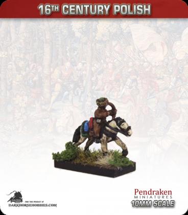 10mm 16th C. Polish: Polish Horse Archer