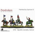 10mm 16th C. Ottoman Turk: Sipahis Cavalry with Lance