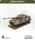 10mm World War II: German - Tiger II Heavy Tank (henschel turret)
