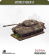 10mm World War II: German - Tiger II Heavy Tank (porsche turret)