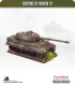 10mm World War II: German - Tiger II Heavy Tank (henschel turret with zimmerit)
