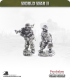 10mm World War II: German - DAK MG34 Team