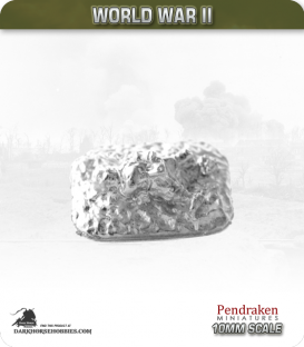 10mm World War II: German - Casualty Markers