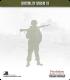 10mm World War II: German - Alpine Riflemen (separate ski's)