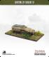 10mm World War II: German - Sdkfz 251 Halftrack AFV (ambulance version w/ canopy)