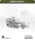 10mm World War II: German - Sdkfz 253 Halftrack AFV (command vehicle)
