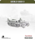 10mm World War II: German - Sdkfz 10/1 Halftrack
