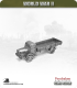 10mm World War II: German - Mercedes L4500 (open top)