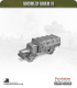 10mm World War II: German - Mercedes L4500 (with canopy)