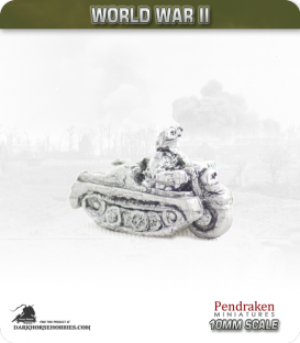 10mm World War II: German - Kettenkrad
