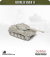 10mm World War II: German - Tiger I Heavy Tank (with zimmerit)
